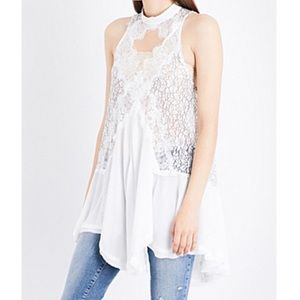 NWT Free People Tell Tale Hearts Top
